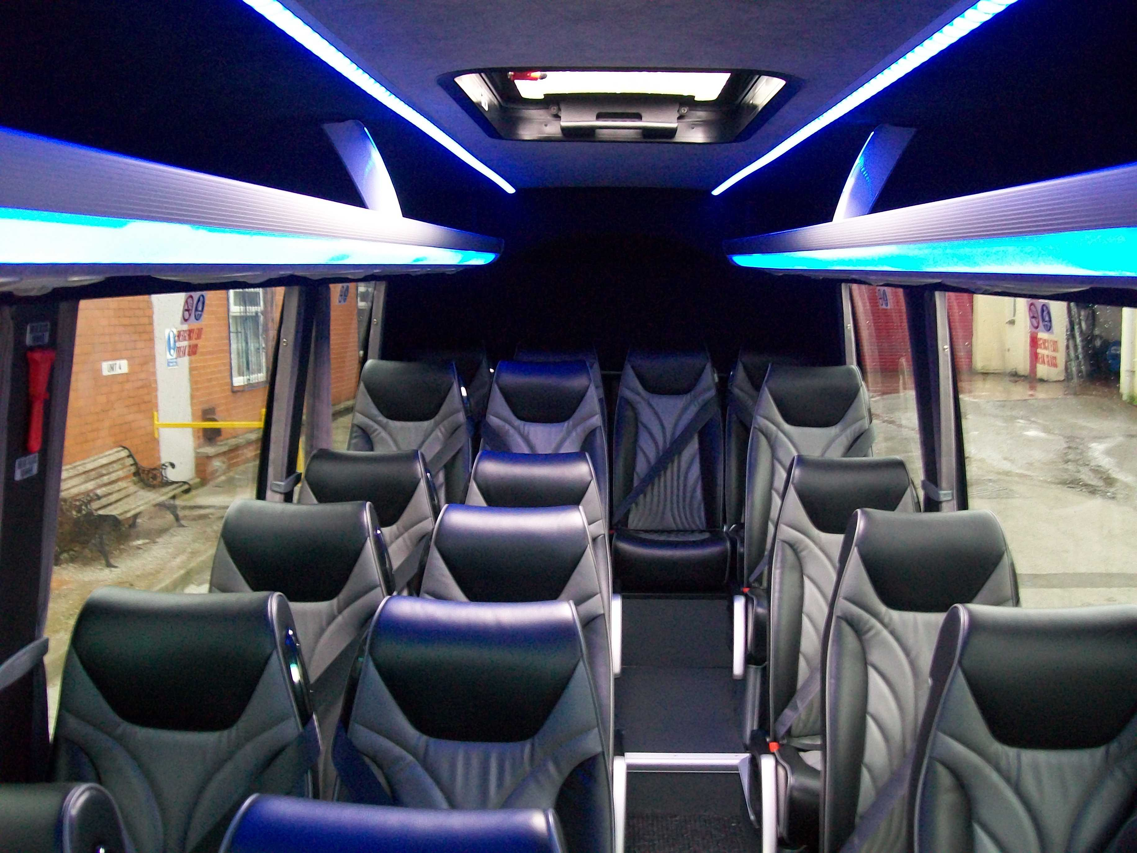 Image of our 19 seater mini-coach
